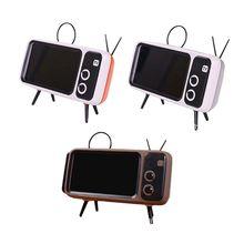 Retro TV teléfono móvil soporte de pantalla soportes para teléfono móvil para 4,7-5.5in mini Waterproo Pantalla de teléfono móvil para teléfono inteligente
