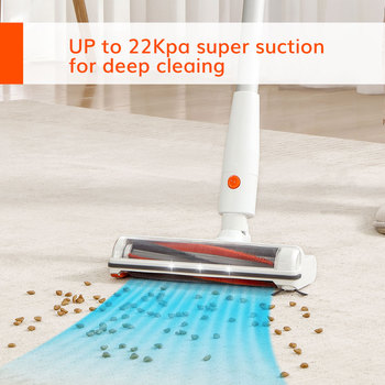 EASINE by ILIFE G80  Cordless Handheld Wireless Vacuum, 22Kpa Suction, LED Display, 45mins Runtime, Cleaning Appliance Household 2