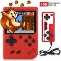 2021 Новый 400 в 1 игрок мини ручной Портативный Ретро игровой консоли 8 бит встроенный Gameboy 3,0 дюймов Цвет ЖК-дисплей Экран игровых приставок