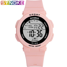 SYNOKE New Arrival Fashion 5Bar Waterproof Kids Watches Chil