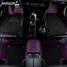 Floor-Mat Waterproof-Accessories KADULEE Mercedes W212 Carpet W204 Custom Car W169-Ml