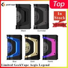 Box MOD Vape Vape-Mod-Limited Cigarette-Vape-Fit Aegis Legend Solo Ageis 200W Dual 18650