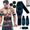 2021microbial Wireless Muscle ABS Stimulator  LCD Display Rechargeable Abdominal Training Device  Trainer Smart Fitness Electric