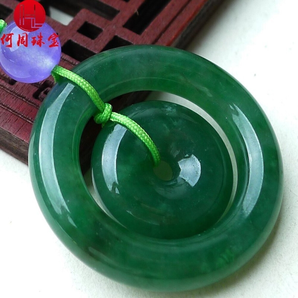 Hezhou jewelry!Myanmar natural jade!Exquisite hand carving!Secure the pendant!Exquisite workmanship!  14.00g 1