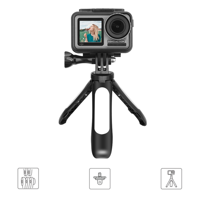 Accessory Sports Camera Extension Pole Professional Selfie Stick Mini Photography Non Slip Handheld Tripod For OSMO ACTION