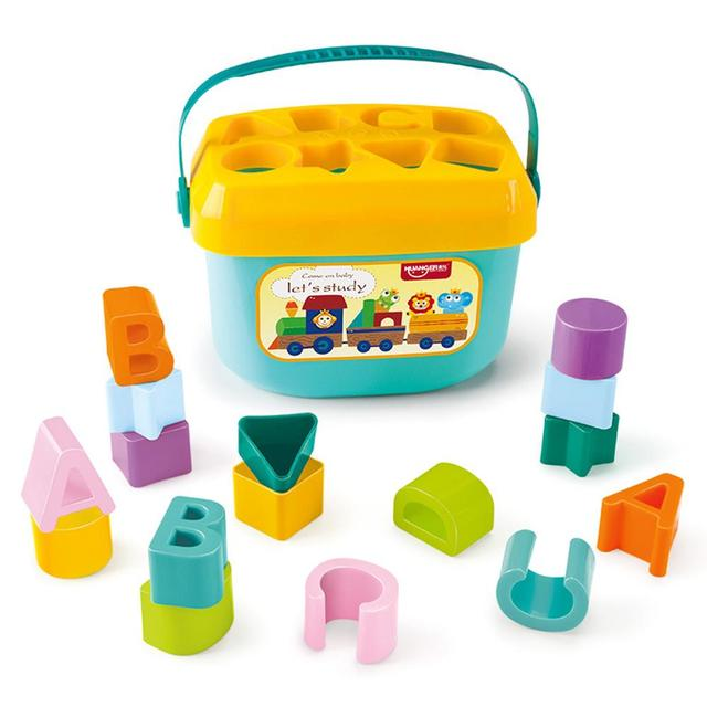 Baby Early Education Building Block Box 1-3 Years Old Multifunctional Baby Toy Shape Matching Early Education Toy 6