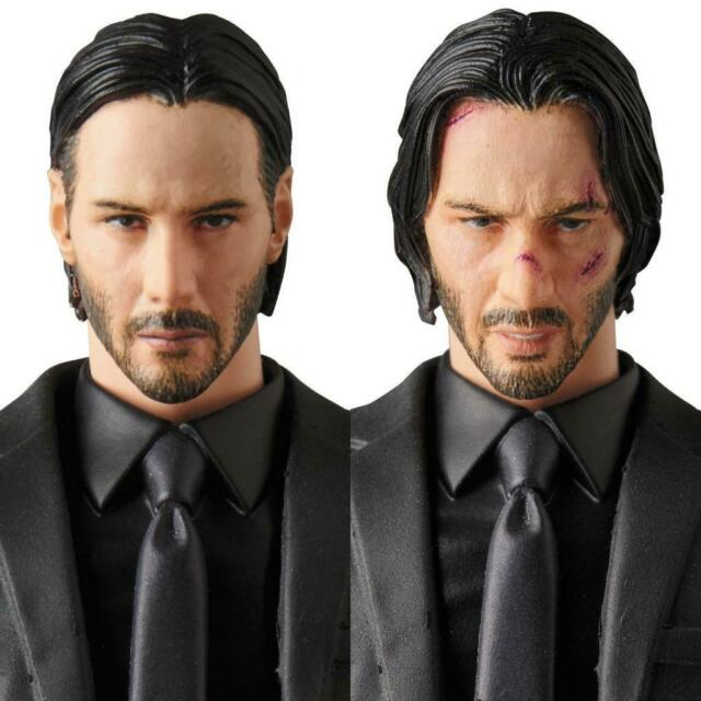 New Mafex 070 JOHN WICK Action Figure T Shirt Model Toy Gift for Kids