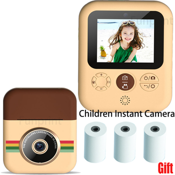 Children Print Camera Instant Photo Printing For Kids 1080P HD Digital Camera With Thermal Paper Child Toy Camera Birthday Gifts 1