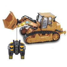 24g Радиоуправляемый экскаватор грузовик игрушки имитация радиоуправляемой