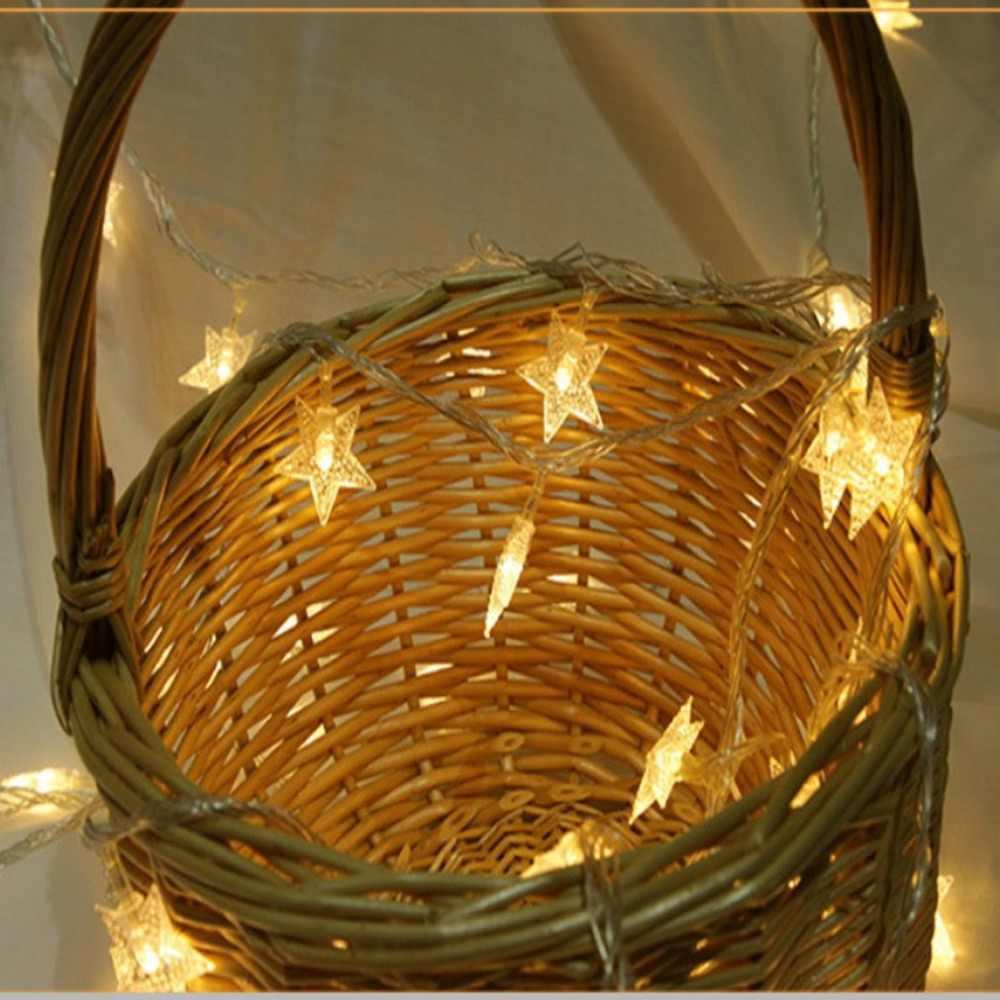 Светодиодная звезда сигнальная лампа украшение дома цветная гирлянда для использования вне помещения окно Hristmas декоративная лампа