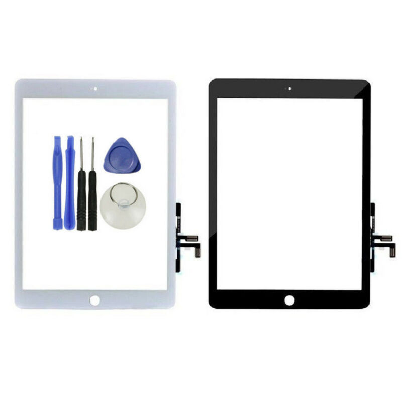 FOR iPad 5th 2017 Ver A1822 A1823 Touch Screen Digitizer Replacement W//B