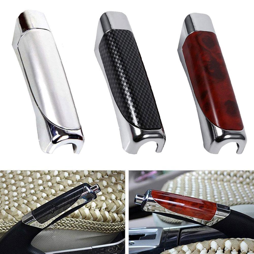 Universal Handbrake Grip Stylish Car Hand Brake Carbon Fiber Protector Cover Interior Decor Car Accessories For Girls