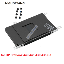 NIGUDEYANG New for HP ProBook 440 445 430 435 G3 SATA HDD SSD 2.5 Hard Drive Bracket Caddy Frame
