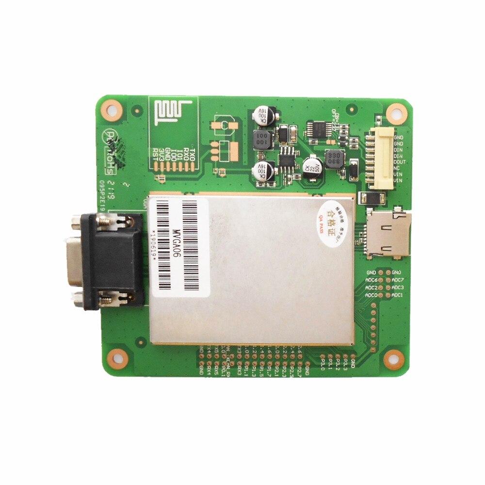 Sterownik interfejsu VGA MVGA06 interfejs wyjściowy VGA (podłączony do telewizora, monitora) płytka przyłączeniowa zestaw instrukcji (TA)/DGUSⅡsysterm
