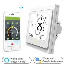 Умный домашний wi fi термостат контроллер температуры для воды/электрического