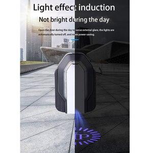 Image 5 - AICARKAS 2PCS 3D דינמי צל אור LED רכב דלת אור אוטומטי בברכה הסביבה אור עבור BMW אאודי Peugeot Volvo אביזרי רכב
