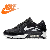 Original Authentic NIKE AIR MAX 90 ESSENTIAL Mens Running Shoes Outdoor Sneakers Lightweight 2019 New Color Matching 325213 060