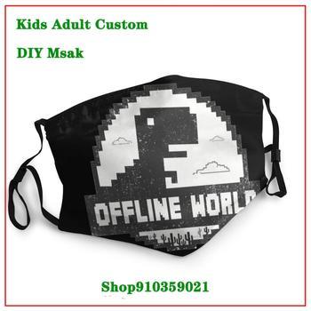 ODIN'S RAVENS DIY mondmasker New Coming Vintage mascara reutilizable con filtro  Order washable mask pm2.5 New Trendy mascara