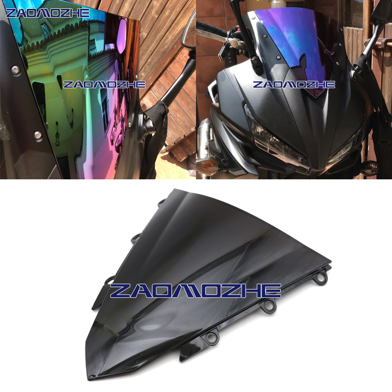 Front Motorcycle Windshield Windscreen For Honda CBR500R CBR400R CBR 2016-2017