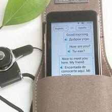 CTVMAN ทันที Voice Translator ออฟไลน์ Language Translator Real Time Smart Voice Translator แบบพกพาทันที TRANSLATORS