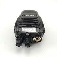 מכשיר הקשר 2pcs ניו Baofeng BFK5 מכשיר הקשר 5W UHF Portable חובב BFK5 Comunicador K5 Ham Radio טווח תחנת Handy Politie סורקים (4)