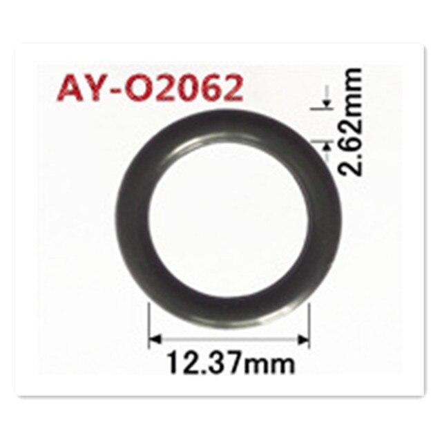 Shippping مجانا 500 قطعة ل BMW 1.8 1.9 Z3 E36 0280150504 حاقن وقود أقل oring 12.37*2.62 مللي متر طقم تصليح ل AY O2062
