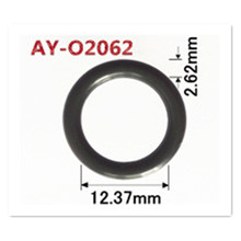 Shippping חינם 500 חתיכות עבור BMW 1.8 1.9 Z3 E36 0280150504 דלק מזרק נמוך oring 12.37*2.62mm תיקון ערכת עבור AY O2062