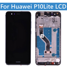 Original OLed Display For Huawei P10 Lite LCD Display For P10Lite Display Replacement Parts WAS-LX1 LX2 LX3 on Huawei Lcd Screen