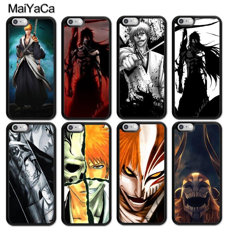 USA Seller Apple iphone 6 /& 6S Anime Phone case Cool Bleach Ichigo vs Hollow