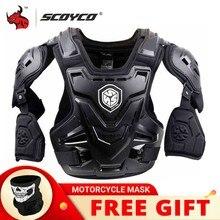 SCOYCO – gilet de protection dorsale pour moto, gilet de protection pour Motocross, veste de course, MX