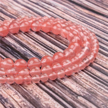 Natural Stone Red Watermelon 15.5 PicBlue Peacockk Size 4/6/8/10/12mm fit Diy Charms Beads Jewelry Making Accessories