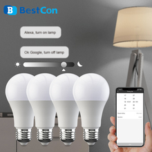 برودلينك BestCon LB1 إضاءة ذكية مصباح LED لمبة عكس الضوء ضوء 220 فولت E27 صوت APP اللاسلكية التحكم عن بعد مع جوجل المنزل اليكسا