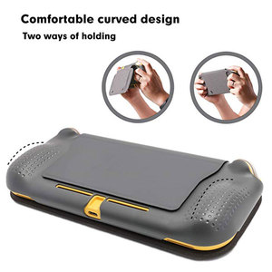Image 5 - Switch Lite Protection Case Non slip Scratch Game Grip Case Cover PC Leather Shell For Nintend Switch Lite Console Accessories