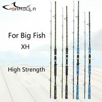 Carbon Strong Fishing Rod Xh Peche En Mer Spinning Casting Olta Kamislari Varas De Pesca Em Carbono Peche For Big Fish Superhard|Fishing Rods| |  -