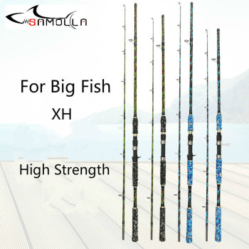 Carbon Strong Fishing Rod Xh Peche En Mer Spinning Casting Olta Kamislari Varas De Pesca Em Carbono Peche For Big Fish Superhard length 60m 170m semi finished product fishing net rede de pesca fishing network filet de peche peche au coup outdoor accessories
