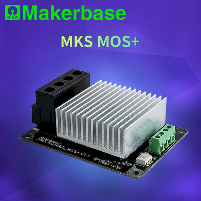 Makerbase  MKS MOSFET 3D printer parts heating controller for heat bed/extruder MOS module exceed 30A support big current