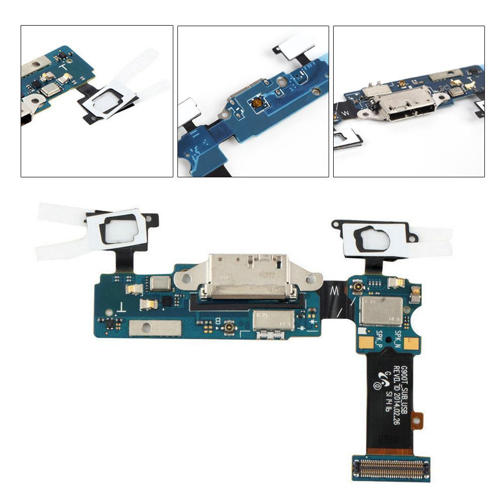 Charging Port Dock USB Connector Flex Cable For  Galaxy S5 G900T UL