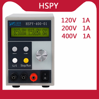 HSPY 400V 1A Programmable Professional Laboratory DC Power Supply 120V 1A Adjustable Lab Bench Switching Power Source 200V 1A
