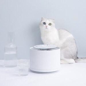 Image 3 - Youpin Thông Minh Mèo Thú Cưng Nước Nước 1.88L 5 Lớp Lọc 360 Độ Mở Uống Khay Động Vật Vòi Nước Uống