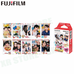 Image 4 - 10 sheets Fuji Fujifilm instax mini 11 9 8 white Edge films Colour Fims for instax camera MONOCHROME Rainbow Macaron cartoon