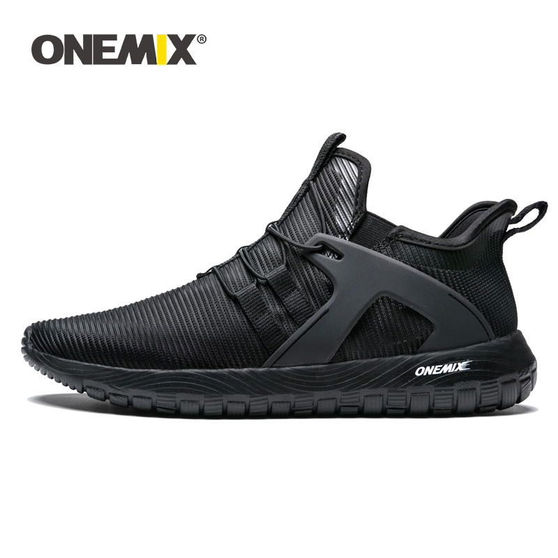 ONEMIX Men Running Shoes Lightweight Women Sneakers Thin Breathable Mesh Trail Trainers 2019