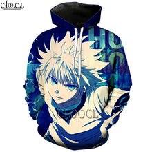 Hx popular men women japanese anime hunter x 3d print hoodies
