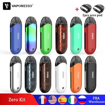 цена на Original Vaporesso Vape Renova Zero Pod Kit Electronic Cigarette With 650mAh Built in Battery PCTG Tank Coil Vapour Cigarette
