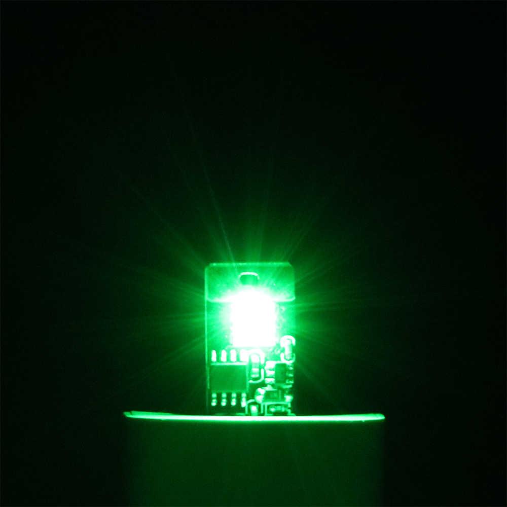 Auto Luci D'atmosfera A LED Lampada Decorativa di RGB Luce Ritmo di Musica di Tocco e Controllo del Suono con Prese USB Auto Piede Lampada