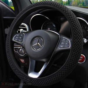 Lupa Car Steering Wheel Cover With Needles and Mesh fabric Diameter 36-38cm Auto Car Accessories