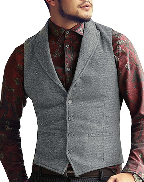 Mens-Suit-Vest-Lapel-V-Neck-Wool-Herringbone-Casual-Formal-Business-Vest-Waistcoat-Groomman-For-Wedding.jpg_640x640 (2)
