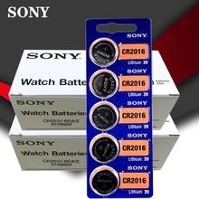 200 шт./лот SONY 3V литиевая батарея для монет DL2016 KCR2016 CR2016 LM2016 BR2016 Высокая плотность энергии