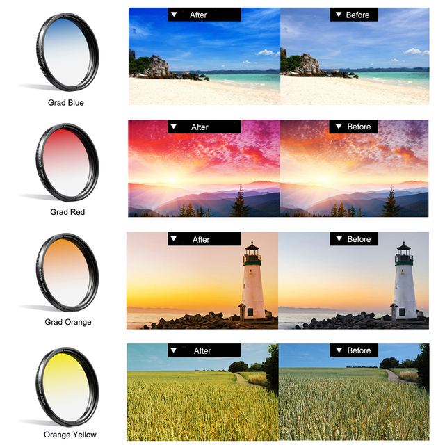 52mm Macro Wide Angle Lens for Smart Mobile Phone Camera Lens Kit 9 IN 1 Include