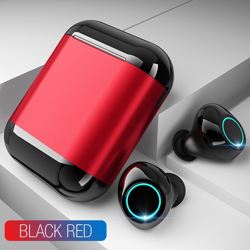 wireless earbuds Bluetooth Earphones Stereo Headset Earphones For iPhone for xiaomi huawei With Charging Box gaming headset in Phone Earphones Headphones from Consumer Electronics