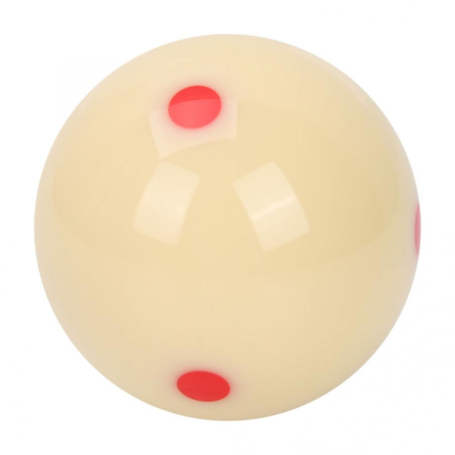 training ball table accessories resin pool ball Ongoion Play ball red dot exercise play ball training for billiard room for play room